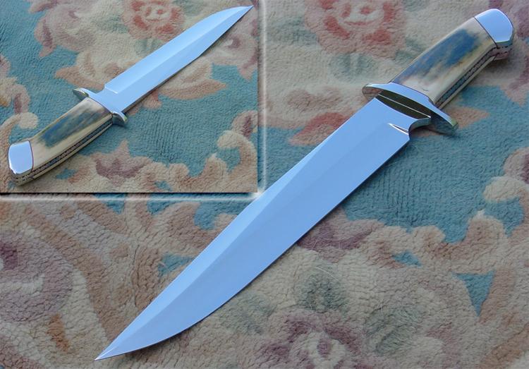 Rocket Handmade Knives Bowie Knives