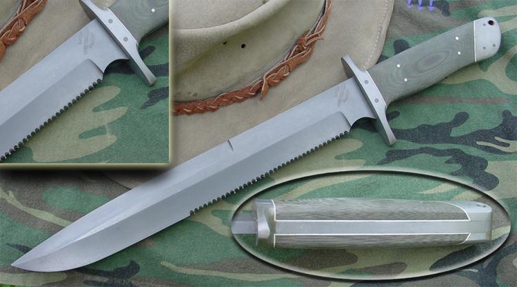 Rocket Handmade Knives Camp Knives